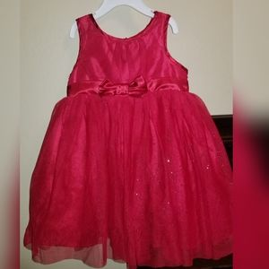 Red tulle skirt Holiday dress